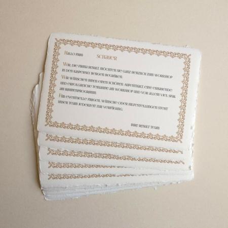 Ruční papír Cartiera Amatruda