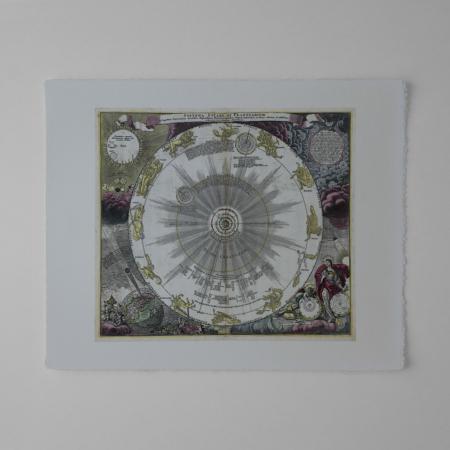 Systema solare et planetarium ex hypothesi Copernicana secundum elegantissimas illustrissimi quondam Hugenij deductiones novissime collectum & exhibitum.